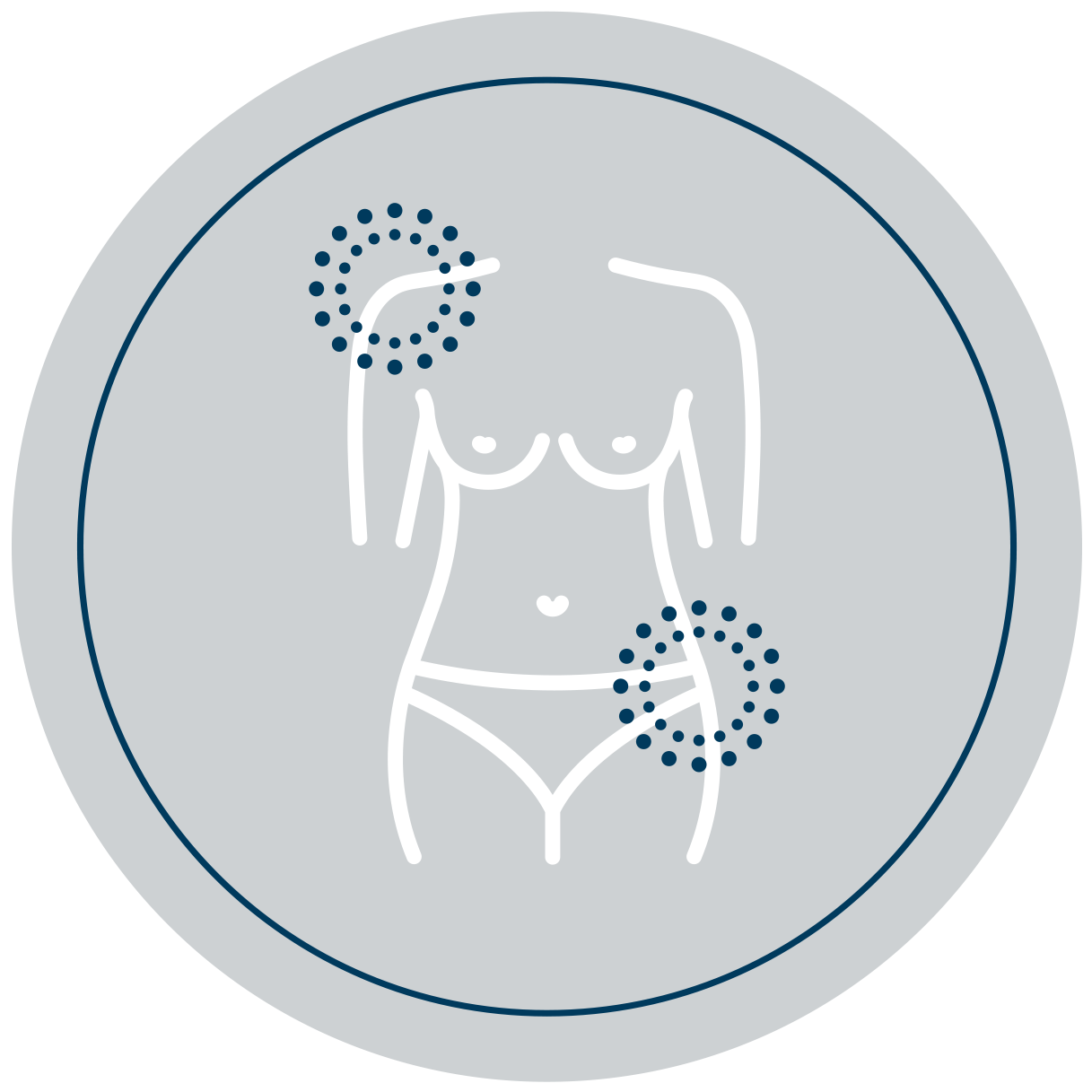 Body aches icon - Venusian CO2 carboxytherapy pain therapy protocol